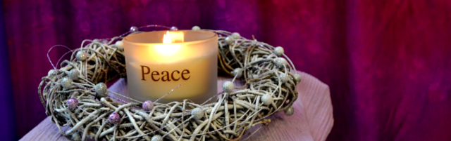 Peace Advent candle 2