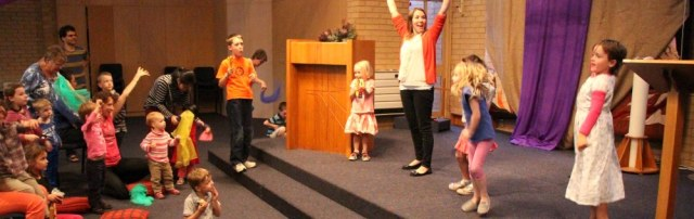 Dancing kids holiday happenings