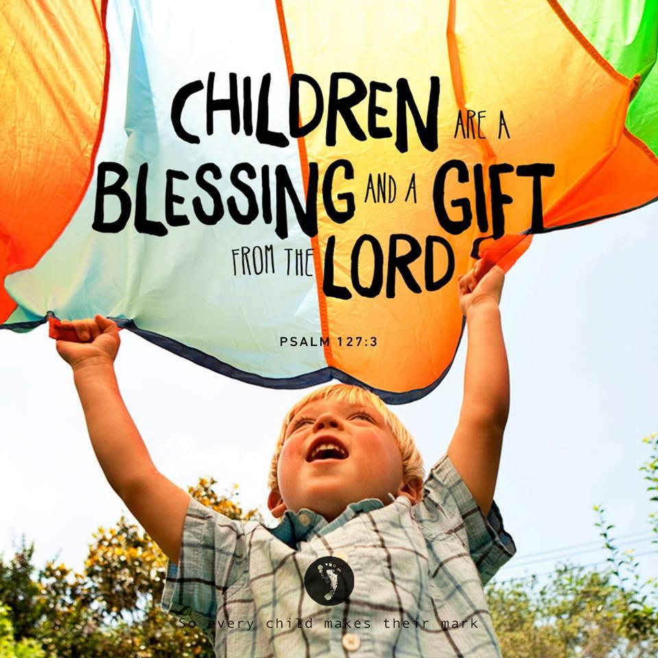 Blessing Of Children Kippax Uniting Church